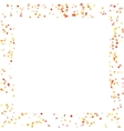 Frame with small spots vector image vector image