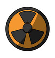 isolated nuclear symbol vector image