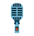 Microphone icon isolated vector image vector image