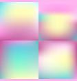 sweet color blurred background set pastel color vector image vector image