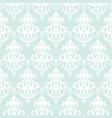 damask seamless pattern background pastel blue vector image
