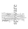 beware of spyware steps to take to protect your vector image vector image