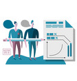 business consulting coaches vector image