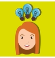 child student idea icon vector image vector image