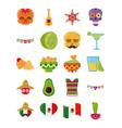 cinco de mayo mexican celebration festive party vector image vector image