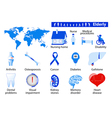 Elderly health problems vector image vector image