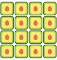 seamless avocado pattern