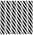 seamless wavy pattern weave striped black vector image vector image