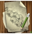 Set of Hand Drawn Various Elements vector image vector image