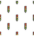 traffic light for vehiclescar single icon in vector image