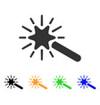 wand magic tool icon vector image