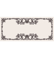 antique ornate frame scalable and editable vector image vector image