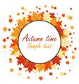 autumn vector image vector image