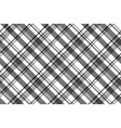 black white abstract fabric texture seamless vector image