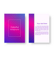bright pink neon background vector image