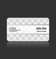 Business card upholstery