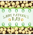 Greeting card for St Patrics Day vector image vector image
