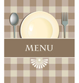 Menu with cutlery vector | Price: 1 Credit (USD $1)