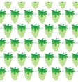 Narutal Green Grapes Background vector image