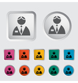 Person icon vector image vector image