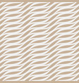 seamless wavy pattern weave striped vector image vector image