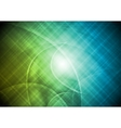 vibrant abstraction with lines vector image vector image