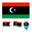 Libyacountry flag vector image