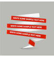 paper stripes vector image vector image