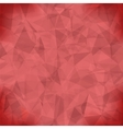 Red Light Polygonal Mosaic Background vector image vector image