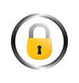safety lock security icon image vector image