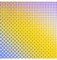 Set of Halftone Dots Comic Book Texture vector image vector image
