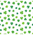shamrock seamless colorful pattern or vector image vector image