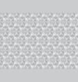white geometric shape background design vector image vector image