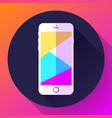 mobile phone icon phone icon vector image