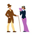 1900 victorian people lady and gentleman