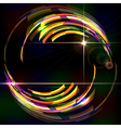 Abstract shiny technology trendy background vector image vector image