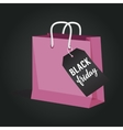 Black Friday Sale of paper vector image vector image