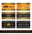 Business card taxi vector | Price: 1 Credit (USD $1)