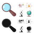 education and learning icon vector image vector image