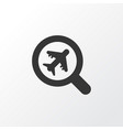 find an airplane icon symbol premium quality vector image