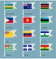 Flags set four-16 vector image vector image