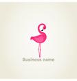 Flamingo2 vector image vector image