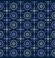 seamless decorative pattern in vitage style vector image vector image