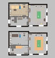 04 House Plan V vector image vector image