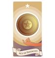 aces tarot cards pentacles golden shield