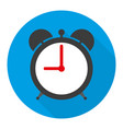 alarm clock icon in flat vector image vector image