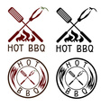 hot bbq grill labels collection