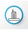 phone icon symbol premium quality isolated call vector image vector image