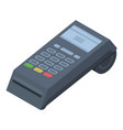 pos terminal icon isometric style vector image