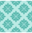 Seamless damask pattern in blue colors vector image vector image